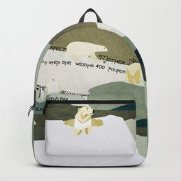 Respect Mother Nature 9 Backpack