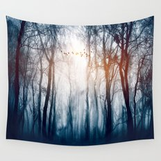 Morning Colours Wall Tapestry