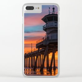 January Colors Clear iPhone Case