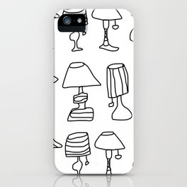 lamps iPhone Case
