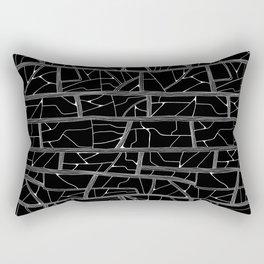 Bark Cloth Rectangular Pillow