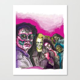The Lost Zombie Boys Canvas Print