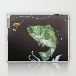 Bass Jumping At Night Laptop & iPad Skin