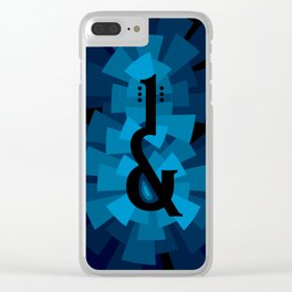 and the guitar Clear iPhone Case
