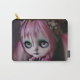LITTLE OCTOPUS CUSTOM BLYTHE ART DOLL PINK NAVY Carry-All Pouch