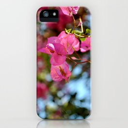 Pink in Nature iPhone Case