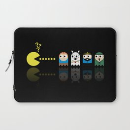 Pacman with Tintin Ghosts Laptop Sleeve