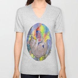 Wolf Heart Unisex V-Neck
