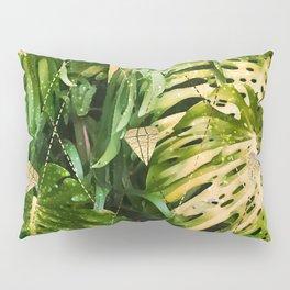 Leaf & gold Pillow Sham