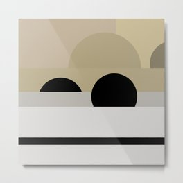 Addition and Subtraction #minimal #design #art Metal Print