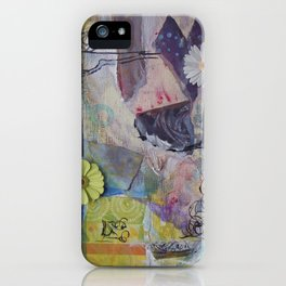 Flower Montage iPhone Case