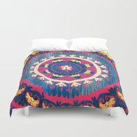 tapestry Duvet Covers featuring Tapestry by lizzy gray kitchens