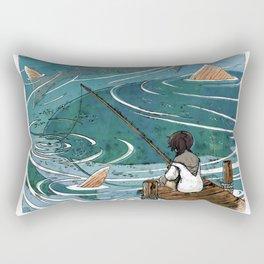 Big Catch Rectangular Pillow