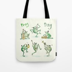 'Frog Song' Tote Bag