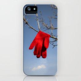 Lost Glove iPhone Case