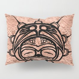 Ink Frog Copper Pillow Sham