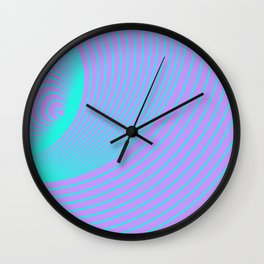 Broadcast Transmission Concept Wall Clock