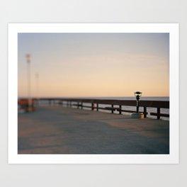 Pier Lookout Art Print