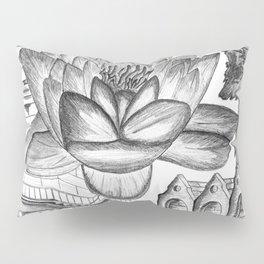 A Flower Above Shelter Pillow Sham