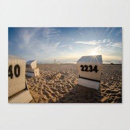 Beach Chair #2 Canvas Print