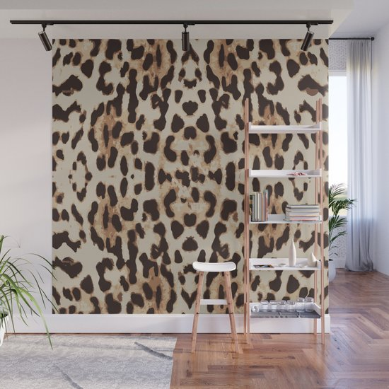 leopard print by huntleigh