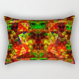 Abstract Cassiopeian Infant Pattern Rectangular Pillow