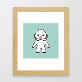 Abominable Yeti Framed Art Print