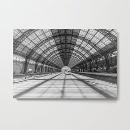 Retiro Train Station. Buenos Aires. Metal Print