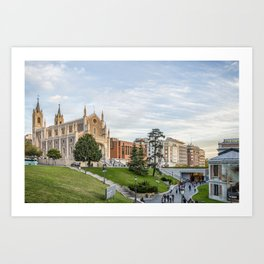 El Prado Museum. Madrid Art Print