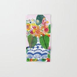 Abstract Flower Bouquet Hand & Bath Towel
