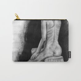 Girl on the Stool Carry-All Pouch