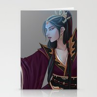 wizard Stationery Cards featuring Wizard by Jinxii