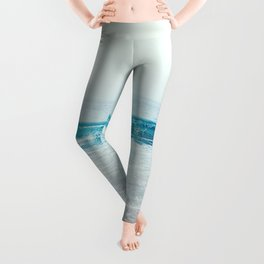 Ocean air Salty hair Leggings