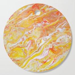 Summer Abstract #3 Cutting Board