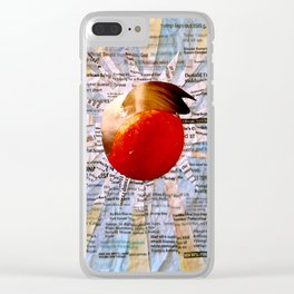 THE SACRED ORANGE Clear iPhone Case