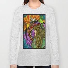 Three Birds of Rhiannon Long Sleeve T-shirt