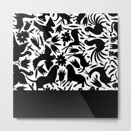 Otomi Metal Print