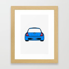 Clio V6 Framed Art Print