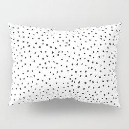 Dotted White & Black Pillow Sham