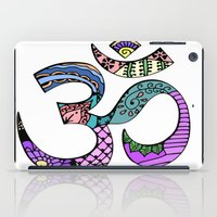 ohm iPad Cases featuring Ohm by Ilse S