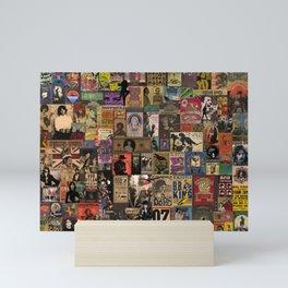 Rock n' roll stories II Mini Art Print