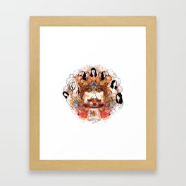 Wonderful Jinn Framed Art Print