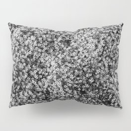 Snowy Blossoms Pillow Sham