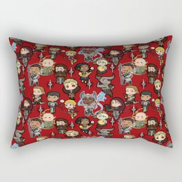 The Chibi Inquisition Rectangular Pillow