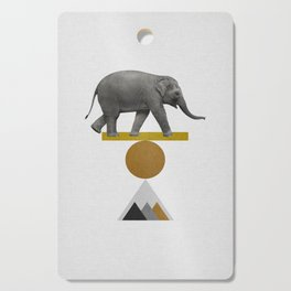 Tribal Elephant Cutting Board