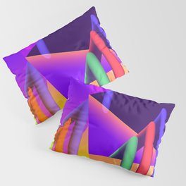 prism and refraction -2- Pillow Sham
