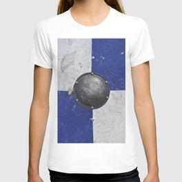 medieval shield texture T-shirt