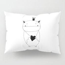 Scandinavian style bat illustration Pillow Sham
