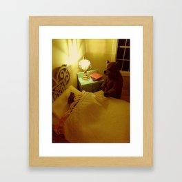 Goodnight, Little Bear Framed Art Print
