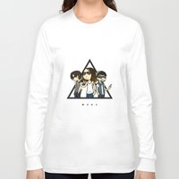 30 rock Long Sleeve T-shirts featuring 30 Seconds to Cartoon by Chiara Wepfer